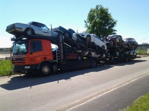 Vrachtwagen Tinga Autoservice Tulpenrallye